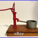 Rare! Wwii Vet Mini Water Pump Henry Arends Sd Historic Article Salesman Sample