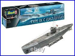 Revell of Germany German Submarine Type IX C U671/U