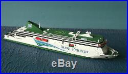 Rhenania Junior 1/1250 Irish Ferries MV Ulysses RoRo RJ343 New Free Shipping