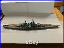 Ron Hughes USSR SOVIETSKI SOYUZ WW2 battleship wood ship model 1/1200 1/1250