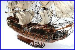 Royal Louis 1779 Museum Quality Tall Ship Model 36 Handcrafted Wooden Model NEW