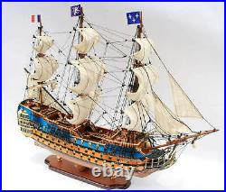 Royal Louis 1779 Tall Ship Model 35 Museum Quality Wooden Model NEW