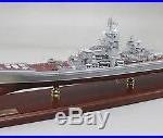 Russian Kirov Battlecruiser display mahogany wood custom model ship