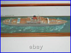 S. S. Transvaal Castle Ship Model by Ron Hughes Rare Hand Made Model