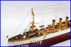 SMS Emden German Light Cruisers Handcrafted War Ship Model
