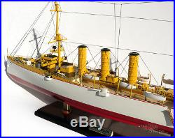 SMS Emden Handcrafted War Ship Display Model 33 NEW