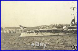 SMS Goeben Germany Military Vessel Constantinople Turkey Photo Postcard rppc