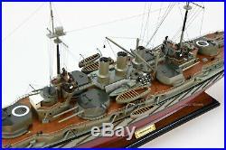 SMS Ostfriesland Handmade Battleship Wooden Model 40