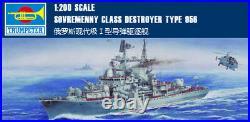 SOVREMENNY CLASS DESTROYER TYPE 956 1/200 ship Trumpeter model kit 03612