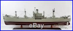 SS American Victory WW II Naval Cargo Ship Ready Display Model 36