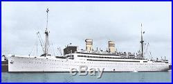 SS Stavangerfiord Cruise Ship 40 inch Hand Built Wooden Ship New