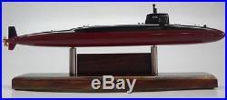 SSBN-636 USS Nathanael Greene USA Submarine Desk Wood Model Replica Small New