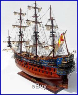 San Felipe Scaled Display Model Ship 37