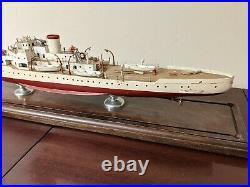 Scratchbuilt Museum quality Model WWII Coast Guard cutter USCGC Campbell WPG-32