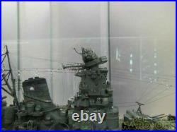 Ship Submarine Assembled Finished Product Battleship Yamato Toy Rare From Japan