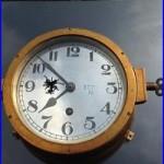 Ship U-Boat U-Boot Clock WW2 German Navy Kriegsmarine COLLECTIBLE