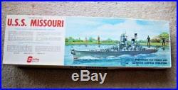 Sterling Models USS Missouri Vintage R/C