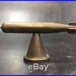 Submarine Torpedo Brass Trench Art Model Paperweight Salesman Sample Display