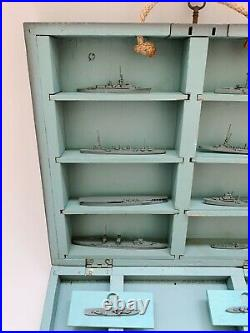 Super Rare! Original WWII Navy training, Japanese Ship Recognition Model Set 1