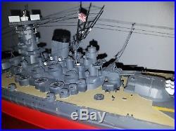 TAMIYA 1/350 Japanese Battleship Musashi Model Pro Built and Painted Beautiful
