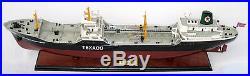 TEXACO SKANDINAVIA Tanker 32- High Quality Handmade Wooden Model Ship NEW
