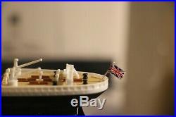 TITANIC MODEL SHIP ASSEMBLED 15' RMS TITANIC OCEAN LINER White Star LIne