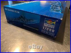 TRUMPETER 05307 1/350 Scale USS ALABAMA BB-60 Model Ship Kit NIB