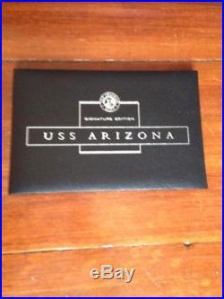The Franklin Mint USS Arizona Signature Edition Model 1069 / 1177 Pearl Harbor