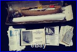 The Official Kit of the USS Constitution 1812-1815 Museum BlueJacket Model Parts
