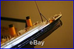 Titanic Model With Led Rms Titanic Ocean Liner With Led Lights