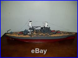 Trumpeter 1/200 Scale Model Kit USS Arizona Pro Built and Painted Beautiful