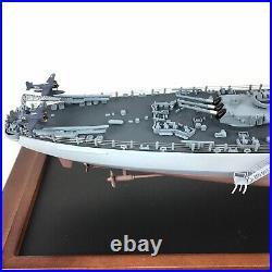 U. S. Battleship BB-63 U. S. S. Missouri Franklin Mint in Glass Display Case