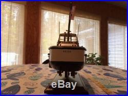 U. S. Coast Guard 44'ft. Motor Lifeboat / Ship, Encane Cuatiane, WOODEN MODEL