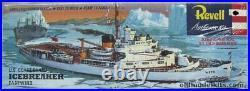 U. S. Coastguard Eastwind Original Box Top Revell Models Art Studio Box Painting