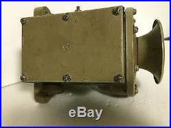 U. S. NAVY department bureau of ships IC/H8S4 general quarters / dive horn
