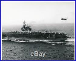 U. S. Navy Aircraft Carrier USS Saratoga (CVA-60) with Phantoms/Skyraiders, 1967