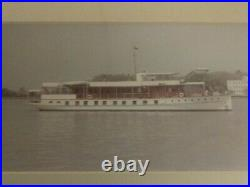 U. S. S. Sequoia(ag-23)1957 Secretary Of The Navy's Yacht Parties Down The Potomac
