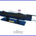 UCSS H. L. Hunley Limited Civil War 24 Model Submarine Boat Assembled
