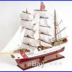 US. Coast Guard Eagle E. E. Collectible 36 Handmade Boat Tall Ship Wood Model New