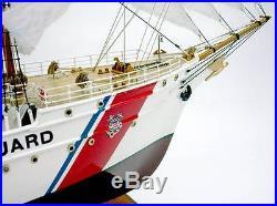 US Coast Guard Sailing Ship USS EAGLE display custom model boat