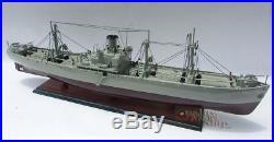US Liberty Jeremiah O' Brien WW II Naval Cargo Ship Ready Display Model 36