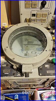 US NAVY WARSHIP Azimuth Range indicator AN/SPA-25