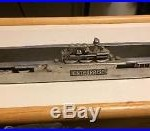 US Navy Aircraft Carrier Model Ashtray Launching USS Enterprise WW2
