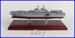 US Navy America Class LHA-8 Amphibious Assault Ship Desk Display 1/800 ES Model