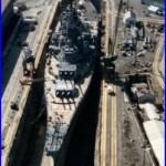 US Navy Battleship USS Iowa (BB-61) in Dry Dock 12X18 Photograph B3