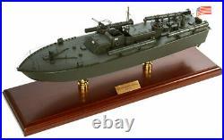 US Navy ELCO PT-109 John F. Kennedy Desk Display 1/40 WWII ES Ship Boat Model