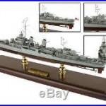 US Navy Fletcher Class Destroyer Desk Top Display Ship 1/192 Boat WW2 ES Model