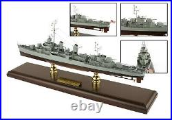 US Navy Fletcher Class Destroyer Desk Top Display WWII War Ship 1/192 ES Model