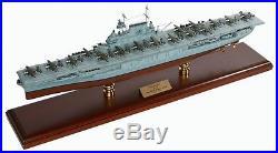 US Navy Hornet CV-8 Desk Top Display Doolittle Aircraft Carrier 1/350 Ship Model