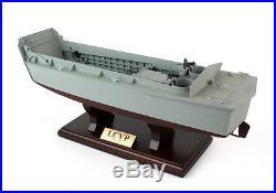 Us navy lcvp landing craft vehicle personnel desk display for Military landing craft for sale
